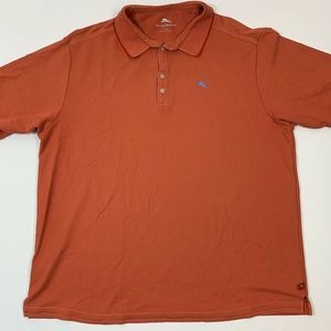 Tommy Bahama Mens Polo Shirt 2XB Short Sleeve